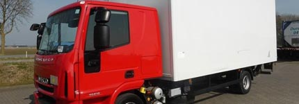 Closed box trucks