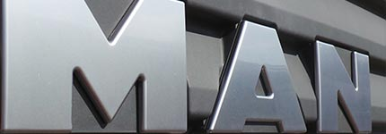 MAN Tractor Unit Grill logo