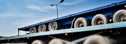 Platform trucks and trailers